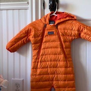 Patagonia orange bunting size 0